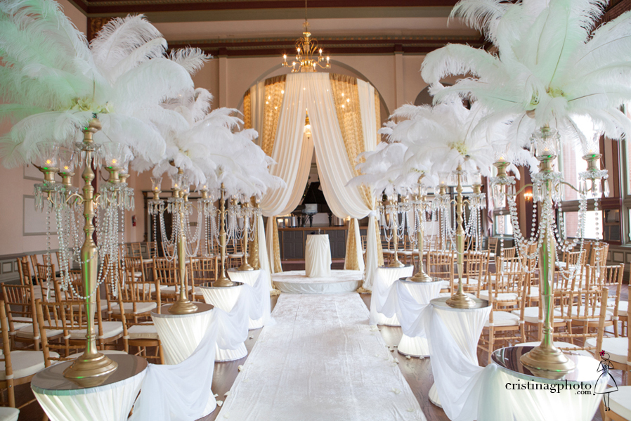 Great Gatsby Wedding 47 Wedding Trends: Opposites Attract