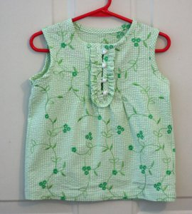 Little summer top Say Hello to Spring with Free Sewing Patterns!