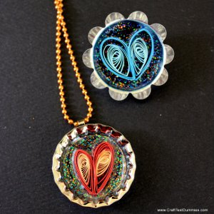 Quilled Hearts Jewelry Paper Crafts to Warm Your Heart