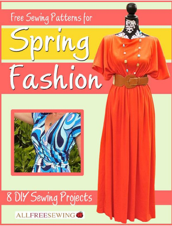 Spring eBook Featured Image Say Hello to Spring with Free Sewing Patterns!