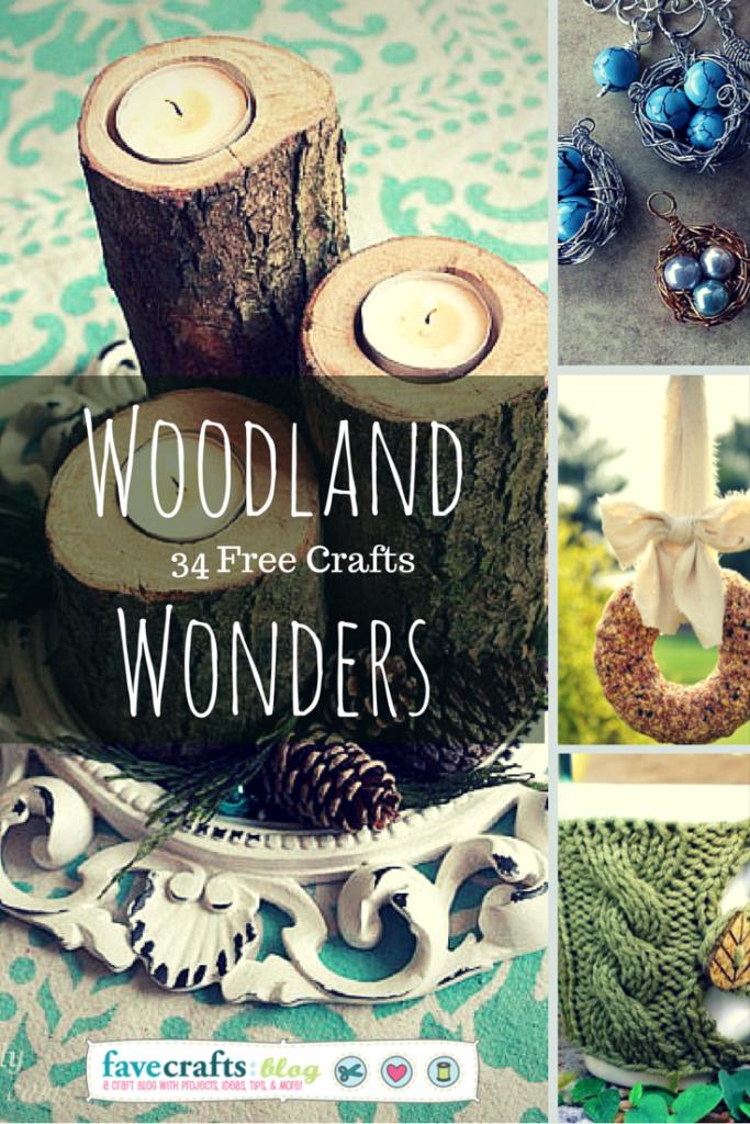 WoodlandWonders nature crafts 683x1024 34 Woodland Wonders