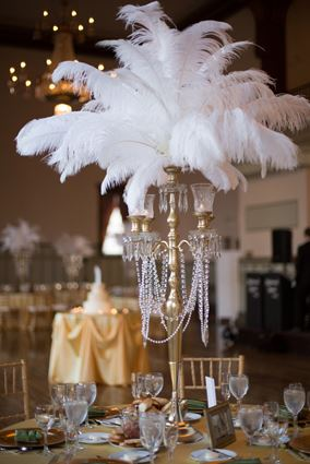 centerpieces Wedding Trends: Opposites Attract