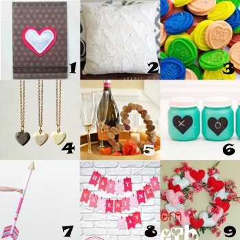 link love valentines Link Love: Valentines Day Craft Ideas