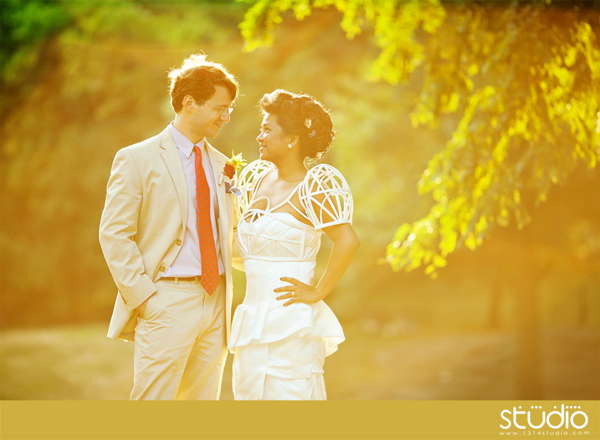 modernvintageweddingphoto Wedding Trends: Opposites Attract