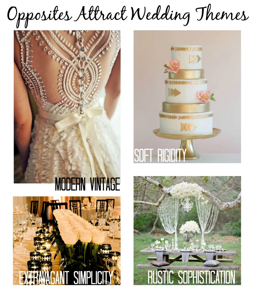 opposites attract 872x1024 Wedding Trends: Opposites Attract