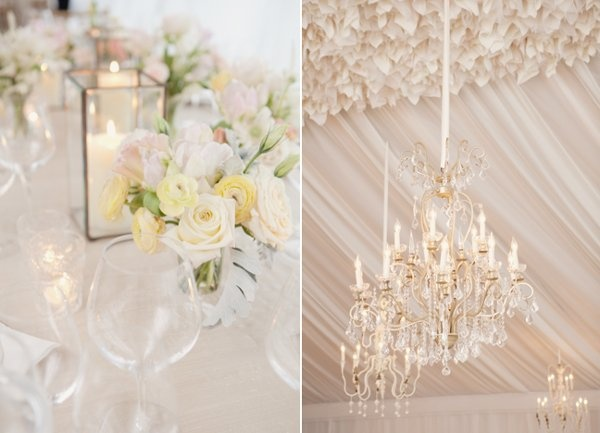 wedding reception lighting ideas 21 Wedding Trends: Opposites Attract
