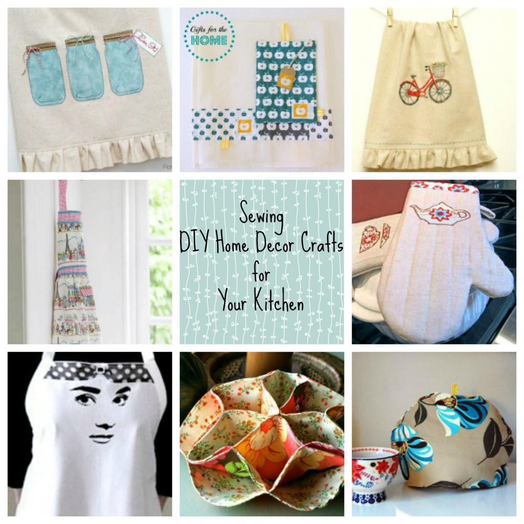 Sewing DIY Home Décor Crafts For Your Kitchen