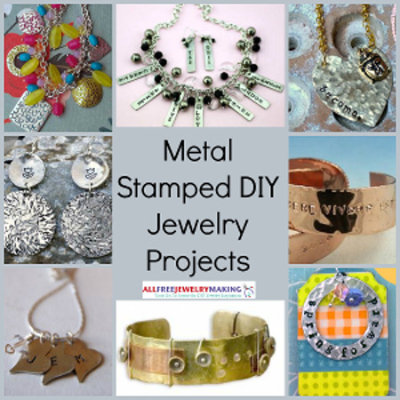 Metal Stamped DIY Jewelry Projets