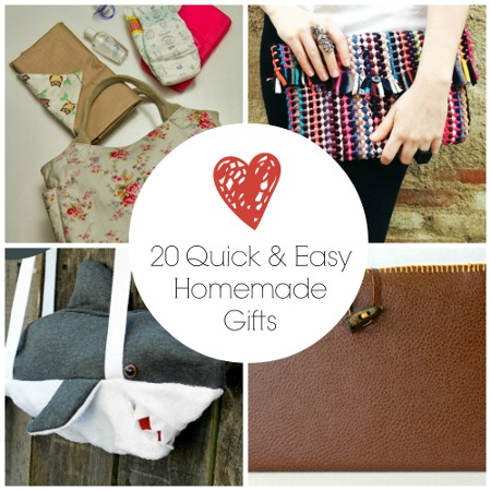 20 Quick and Easy Homemade Gifts