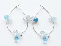 Extraterrestial Hoop Earrings