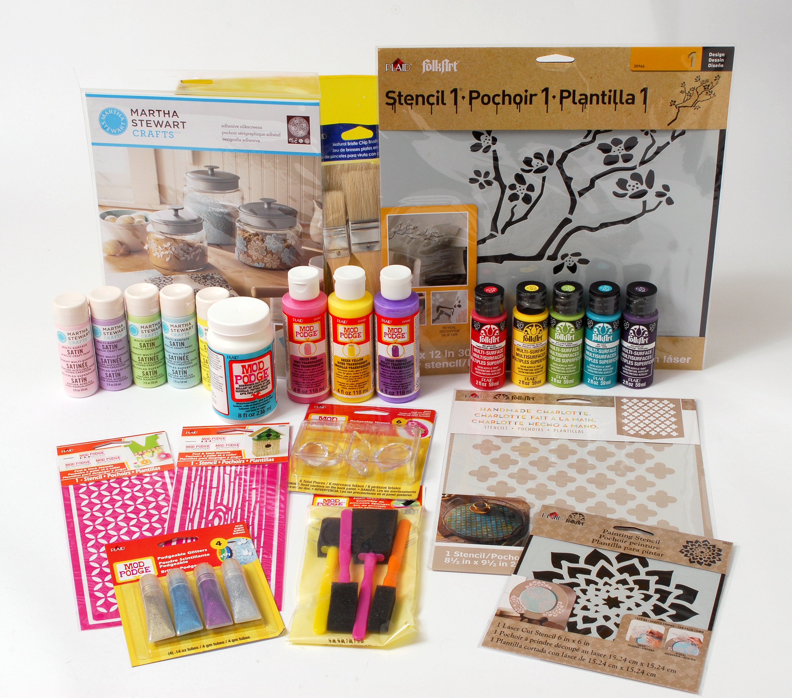Plaid Craft products