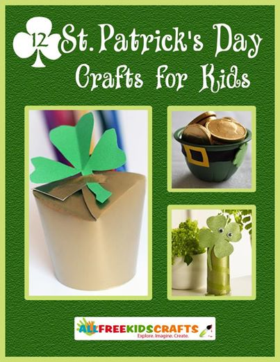 EBLP New Ideas: 12 St. Patricks Day Crafts for Kids