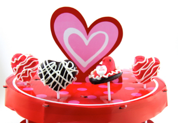 Lollipops Stick It: Make Creative Candy Pops For Valentines Day