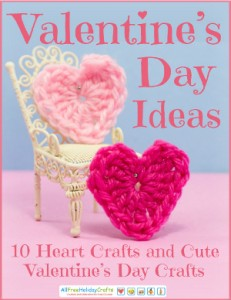 Valentines Day Ideas Heart Crafts and Cute Valentines DayCrafts eBook.300W 231x300 Find Cute Valentines Day Ideas in the new eBook from AllFreeHolidayCrafts