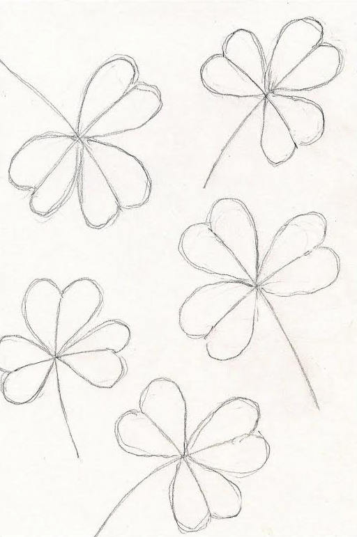 how to draw a shamrock 2 St. Patricks Day Crafts: How to Draw a Shamrock