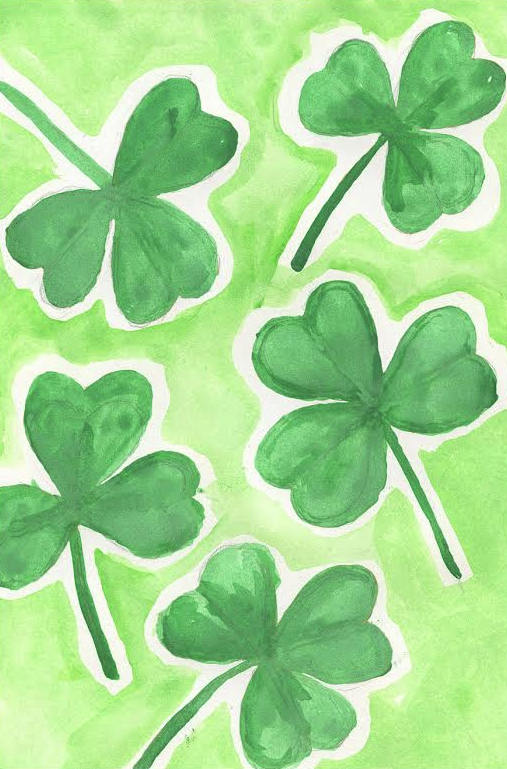 how to draw a shamrock 4 St. Patricks Day Crafts: How to Draw a Shamrock