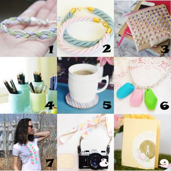 link love pastels Link Love: Think Spring with Pastel Crafts