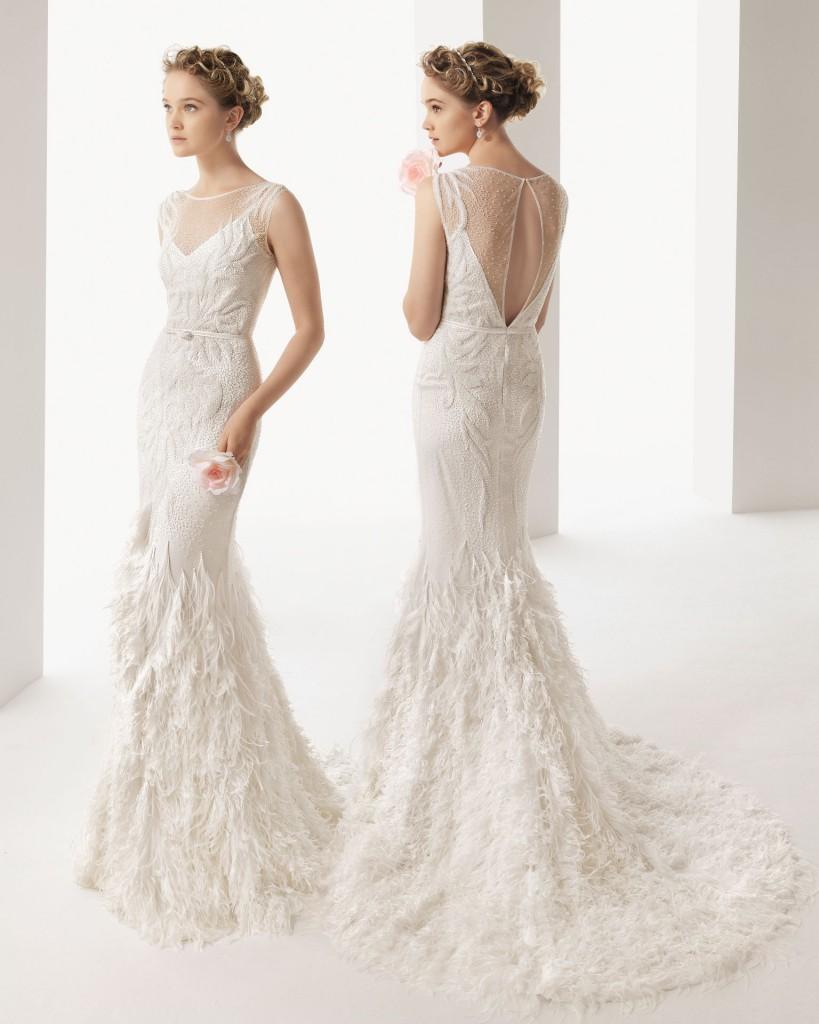 vestido de novia soft 208 819x1024 Wedding Trends 2014: The Wedding Dresses Youll Kill For