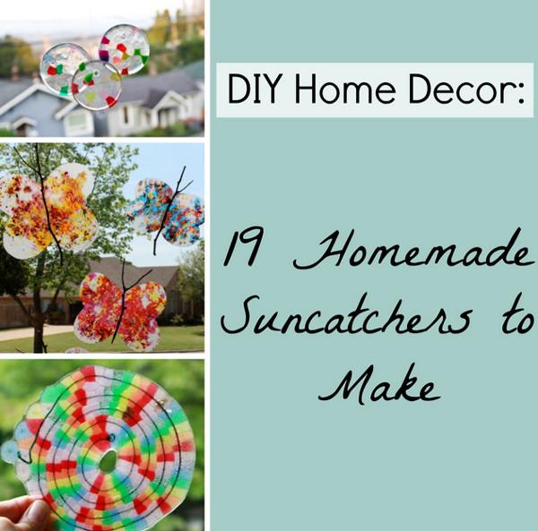 Diy Home Decor 19 Homemade Suncatchers To Make Favecrafts
