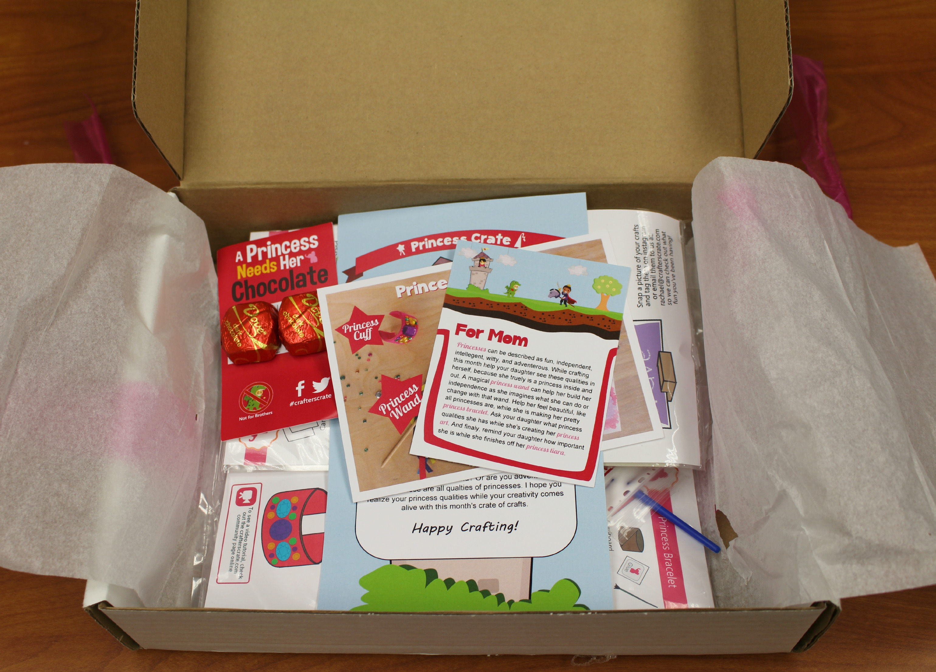 Fun with Princess Crafts: CraftersCrate Giveaway + $10 Off