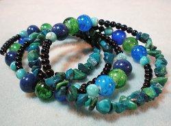 BeadaliciousMemoryWireBracelet I Like Big Beads and I Cannot Lie!:  21 Big Bead Jewelry Patterns
