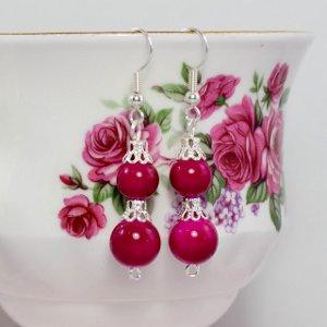 Fairy Kiss Earrings I Like Big Beads and I Cannot Lie!:  21 Big Bead Jewelry Patterns