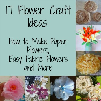 PicMonkey DIY Flowers to Combat March (Snow) Showers