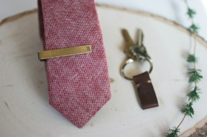 Timeless Tie Clips4 300x199 Seriously Stand Out: 27 Unique Wedding Ceremony Ideas