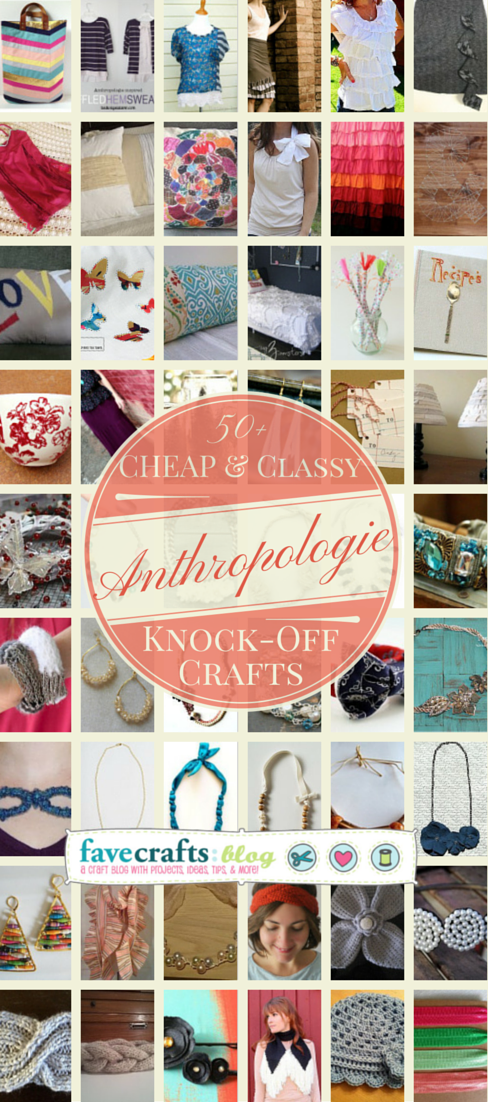 anthropologie knock off crafts 50+ Cheap & Classy Anthropologie Knock Off Crafts