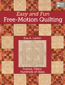 easy and fun free motion quilting 275 FaveQuilts Top 5 Quilt Novels