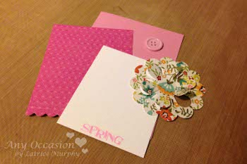 latrice2 Say Hello To Spring With Handmade Greeting Cards