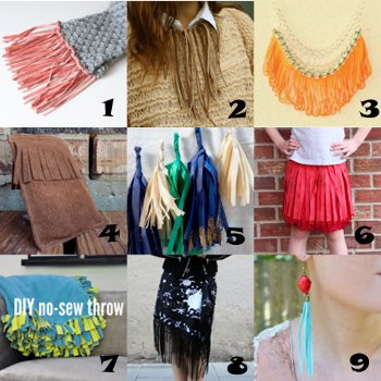 link love tassels Link Love: Fun with Fringe and Tassels