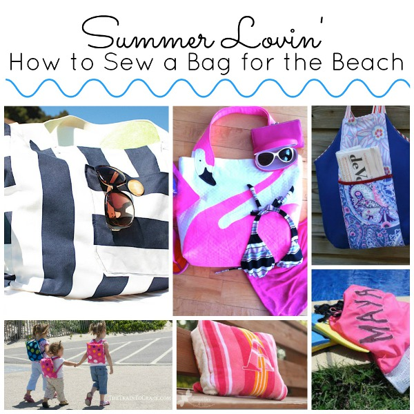 summer lovin Summer Lovin': How to Sew a Bag for the Beach