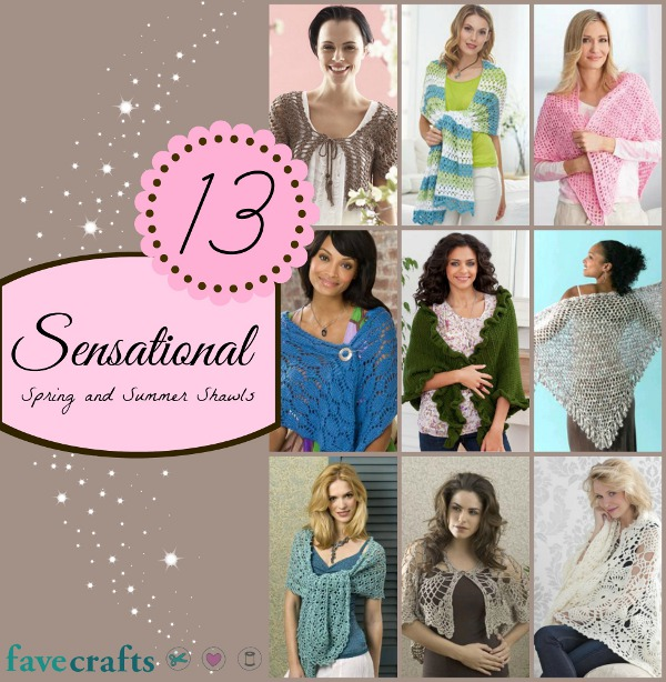 summer shawls 16 Sensational Spring and Summer Shawls