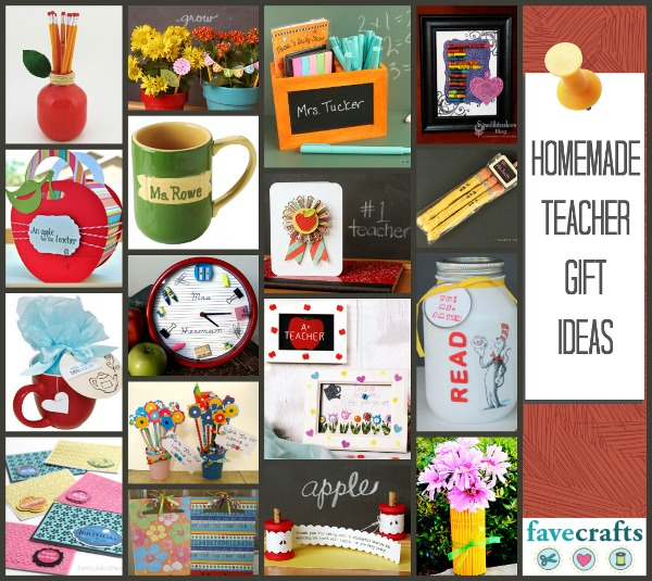 Homemade Teacher Gift Ideas