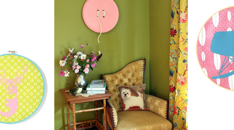 12 Thrifty Wall Decorations You Can\'t Live Without - FaveCrafts