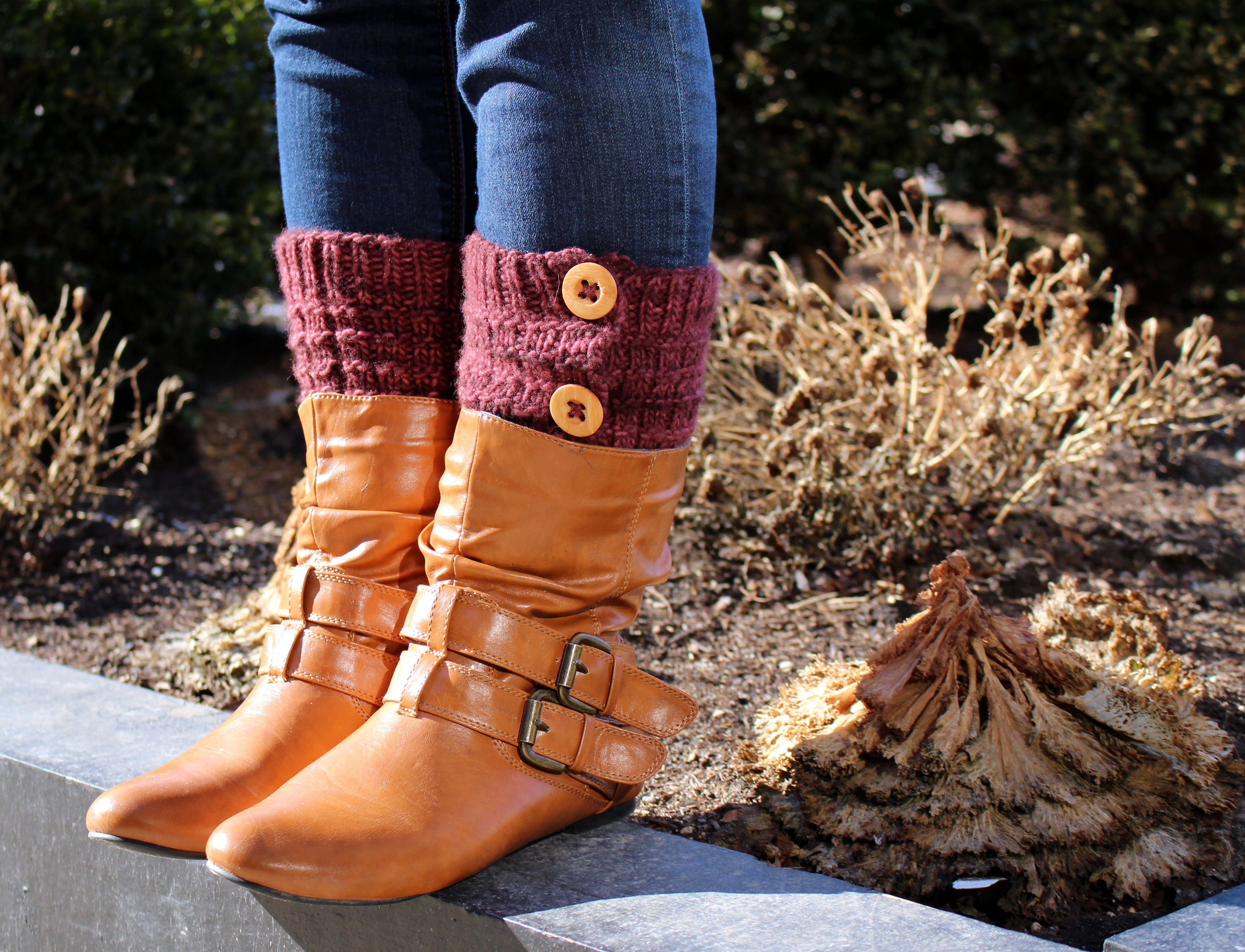 The Best Blogger Crafts: Basic Buttoned Boot Cuffs ...