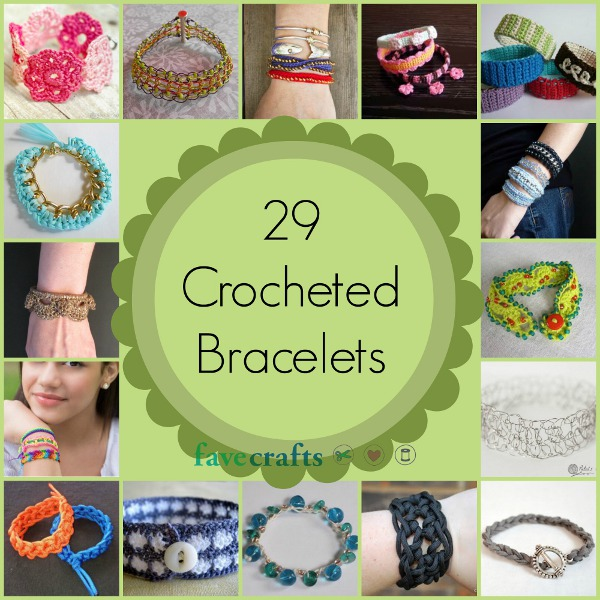 crocheted-bracelets