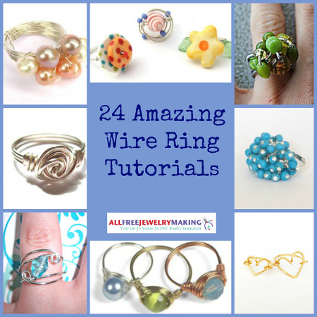 Amazing Wire Ring Tutorials 450 24 Amazing Wire Ring Tutorials