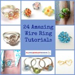 24 Amazing Wire Ring Tutorials