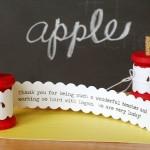 Apple Core Spool Card