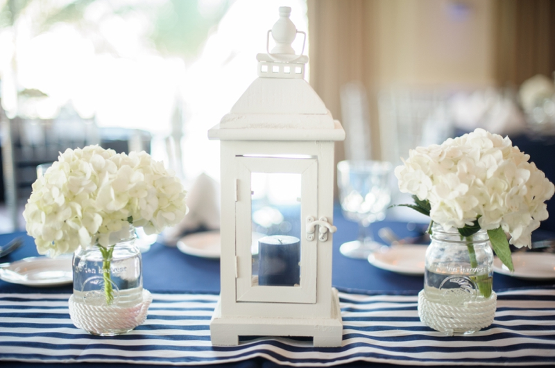Florida Nautical Wedding 0033 Tropical Getaway: Nautical Wedding Inspiration