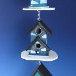 beautiful-blue-birdhouses