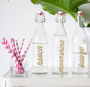 classy casual self service bottles 21 Stunning Summer Wedding Finds
