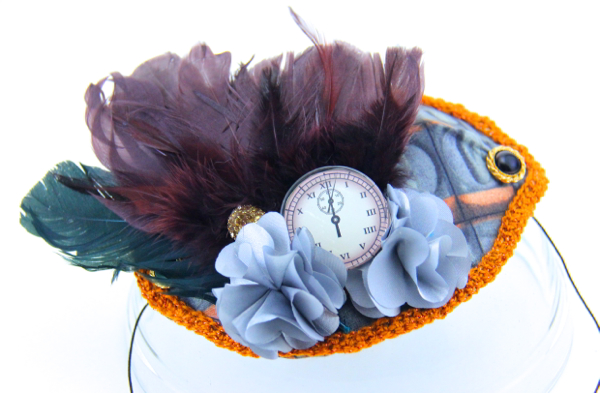 Simply Charming Embellished Fascinator