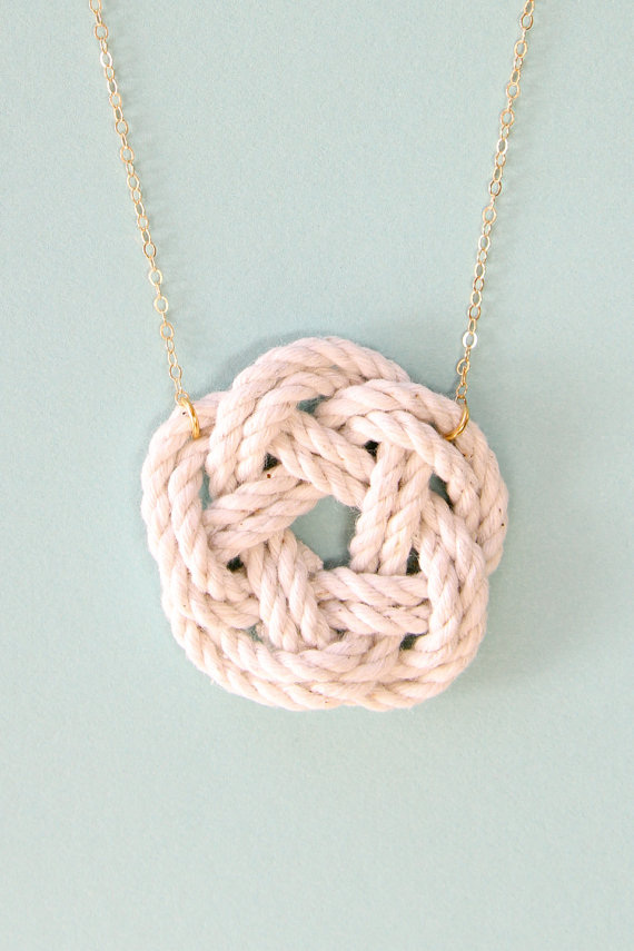 Sailor Knot Necklace