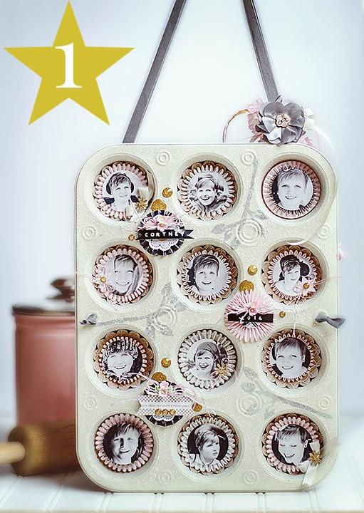 Retro Muffin Tin Frame