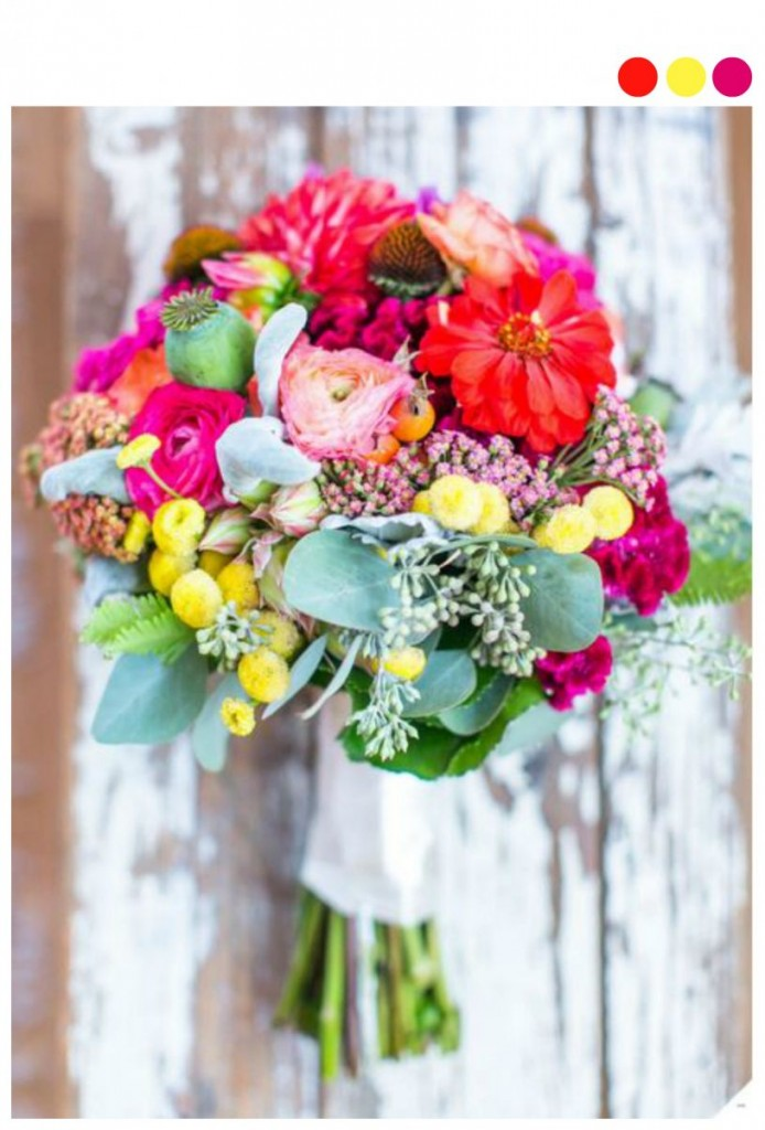 preppy rustic bouquet 694x1024 21 Stunning Summer Wedding Finds