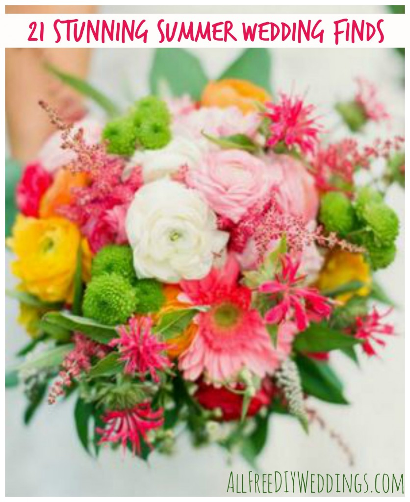 summer finds 836x1024 21 Stunning Summer Wedding Finds