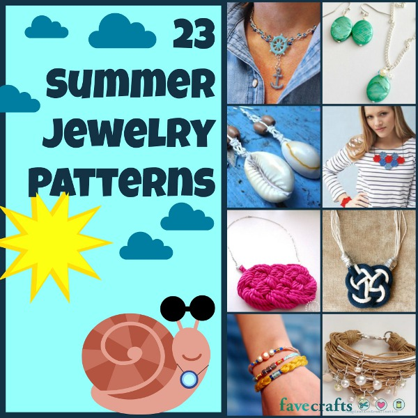 summer jewelry patterns 23 Summer Jewelry Patterns + Awesome Giveaway!